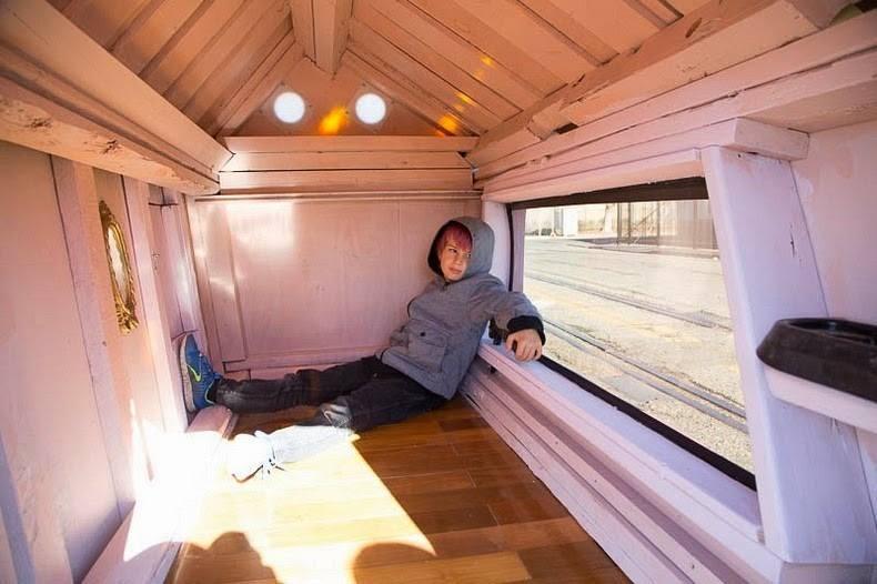 Къщичките са тесни, но създават уют
