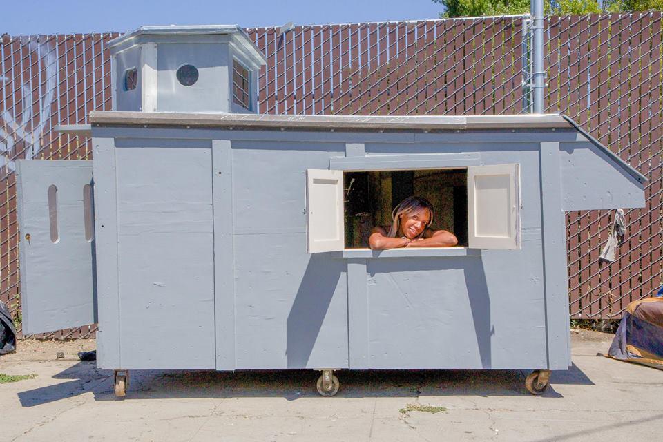 Микро-къщичките предоставят уютен подслон