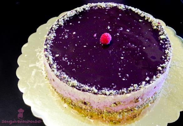 Sugarmouse, ястие, torta s karalamel i lavandula