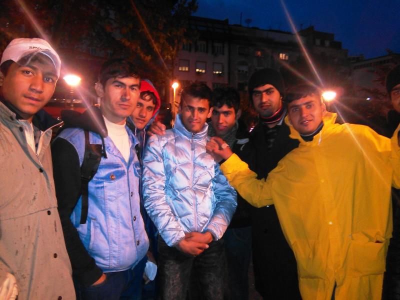 бежанци, Actualno, Белград