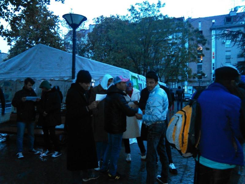 бежанци, TrueStory, Белград
