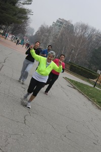 5 km run 2