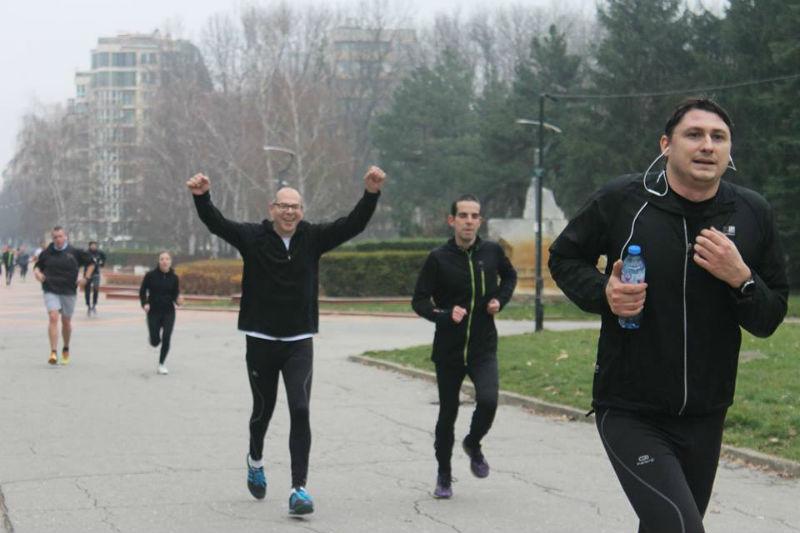 5 km run 4