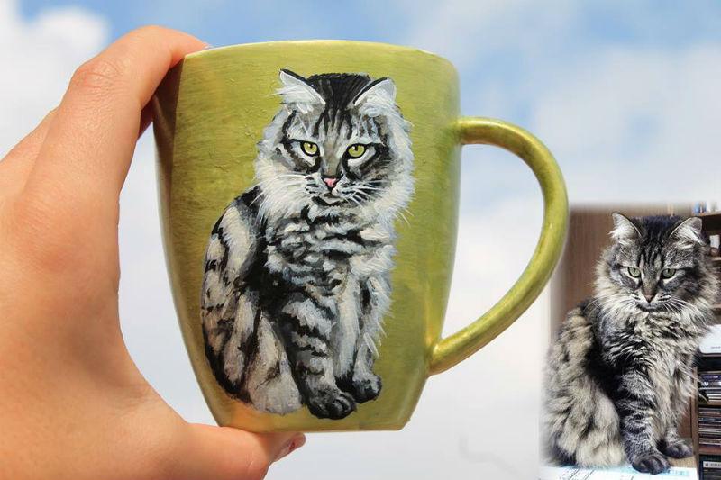 мария чаша котка