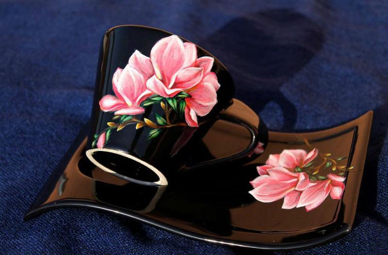 мария чаша цветя