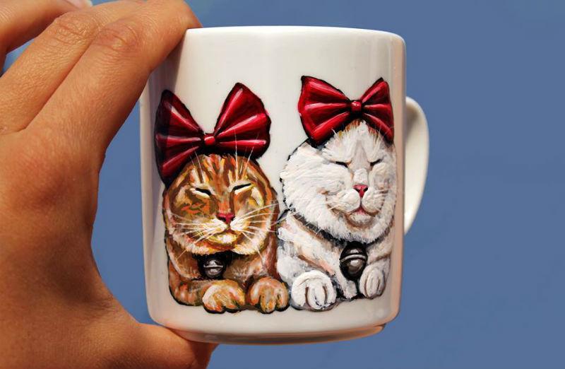 мария чаша 2 котки