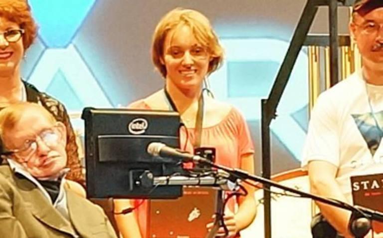 Неда Лаптева за срещите си със Стивън Хокинг и космическия свят на науката