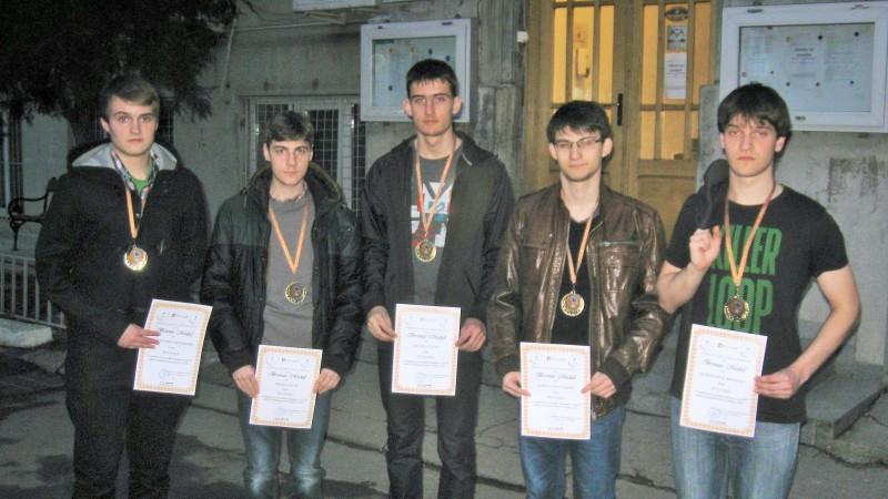 Всички български състезатели от Romanian Masters of Physics се върнаха с медали