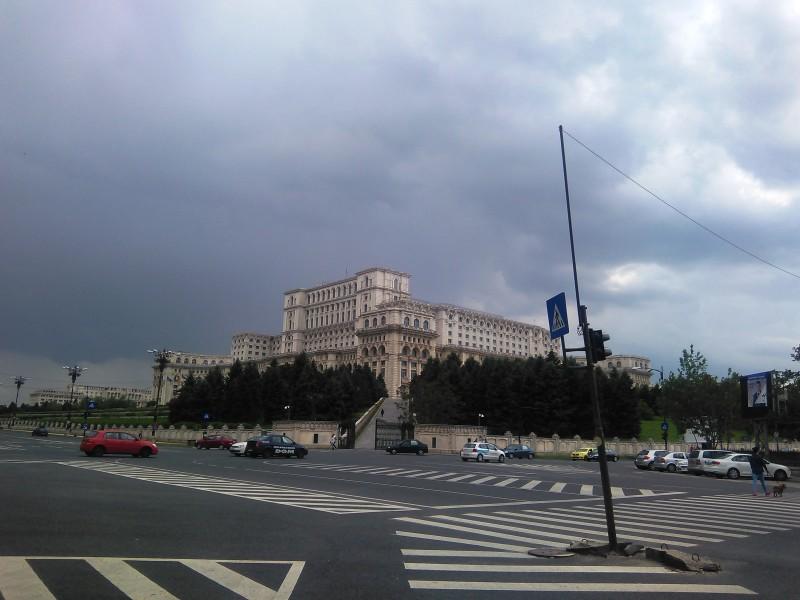 парламент, Румъния