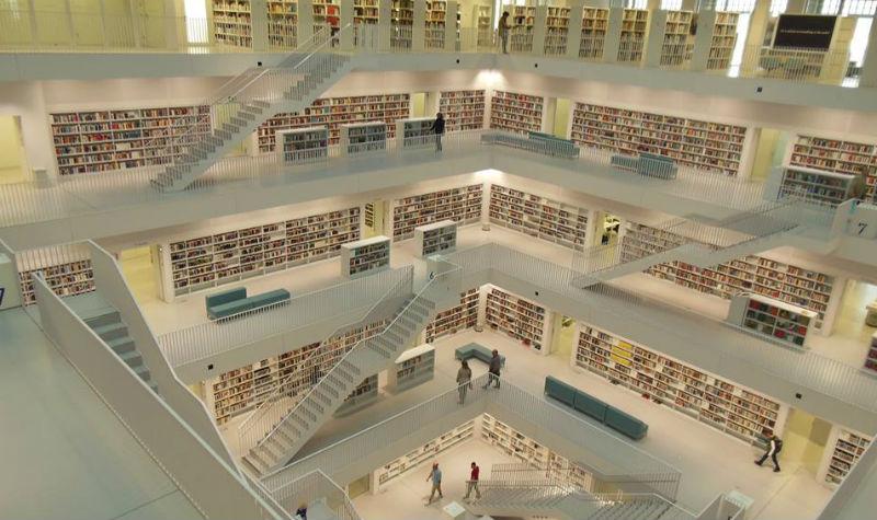 Библиотеките са мъртви. Да живеят библиотеките!*
