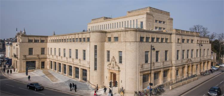Weston Library Оксфорд