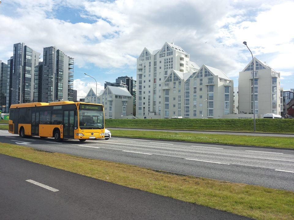 автобус рейкявик