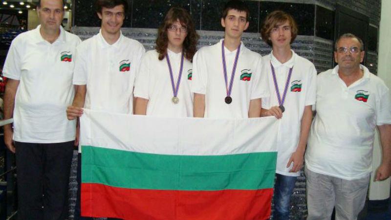 Българските ученици с нов световен успех: 1 златен и 2 сребърни медала по информатика