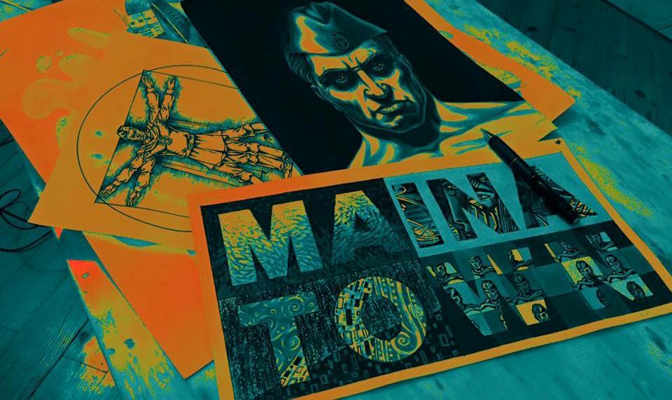 Майна Таун – град на супергерои, където най-силното оръжие е усмивката