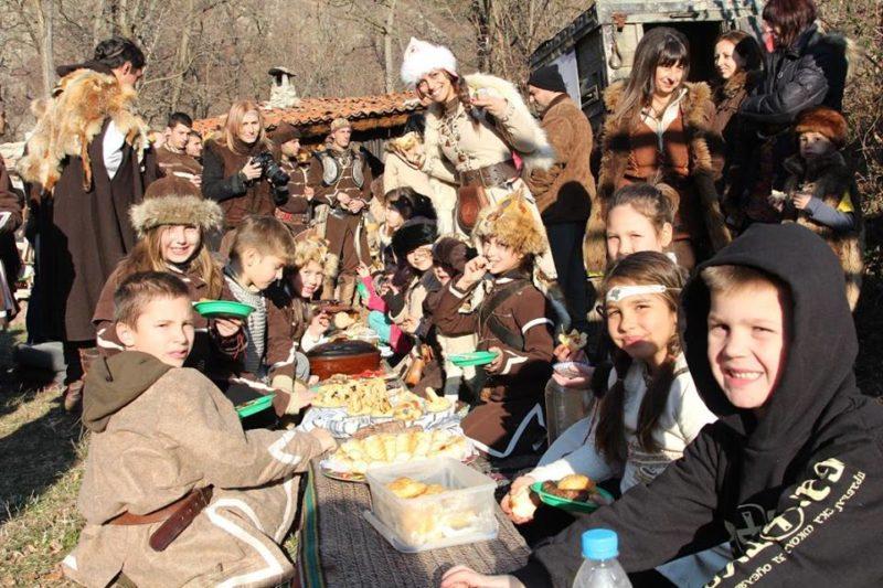 На трапезата на прабългарите в навечерието на Новата година