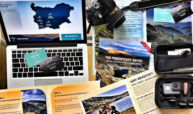 Николай Николов за проекта Adventif, представящ българските планини пред света