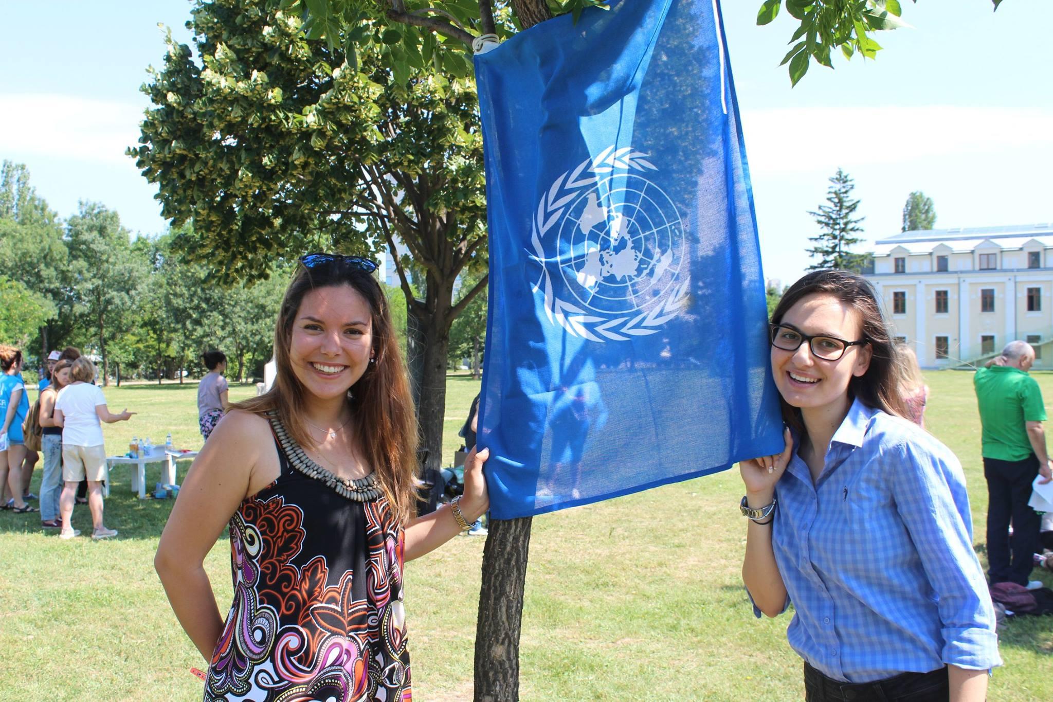 """Българските младежки делегати към ООН с кампания """"Спорт за развитие"""""""