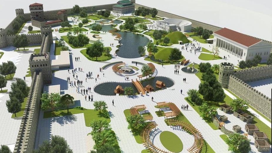 Най-големият и първи по рода си Исторически парк в света отваря врати в България