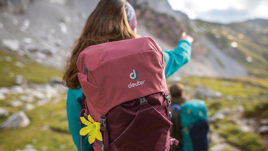 Пазим ти гърба с раница Deuter Speed Lite – бързина и лекота в планината!