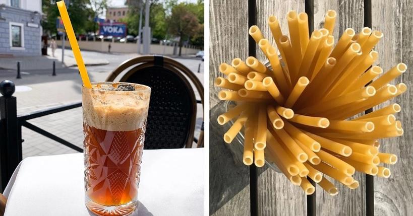 Барове в Италия използват сламки от паста за намаляване на пластмасовите отпадъци