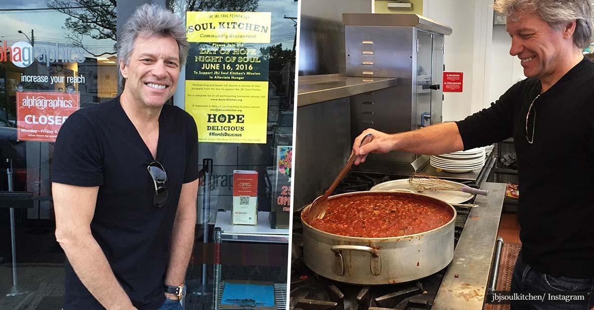 Джон Бон Джоуви отваря трети ресторант в помощ на хора в нужда