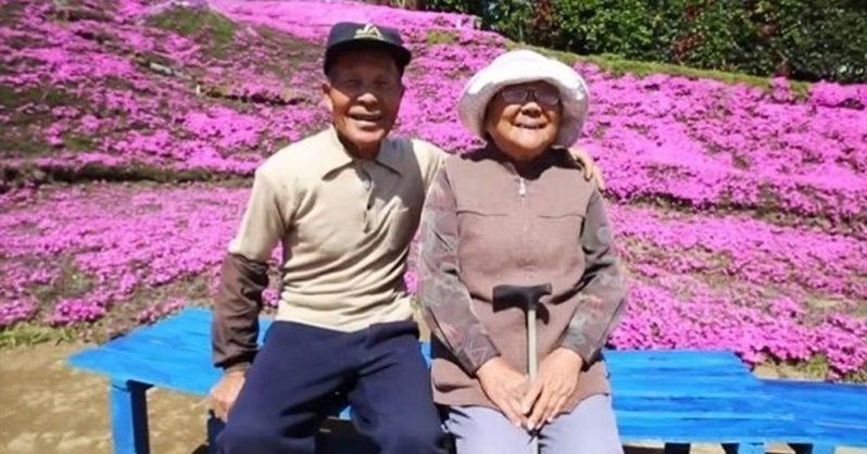 Японец засажда хиляди цветя, за да зарадва незрящата си жена