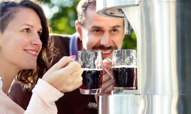 Сбъдната мечта – бира потече от чешма
