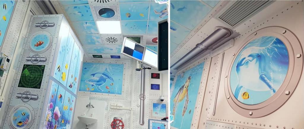 рисунки детска болница