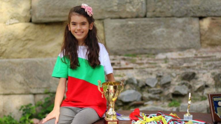 13-годишната Димана Праматарова е шампион в математическата лига на САЩ