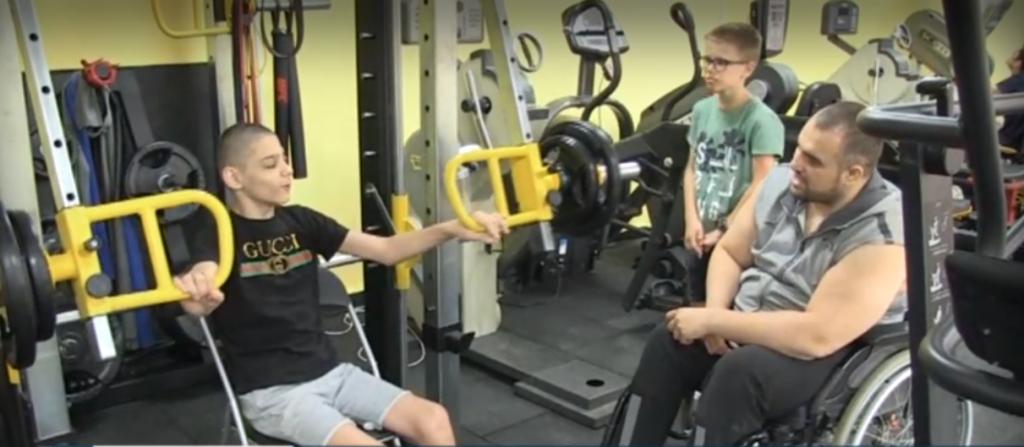 спортна зала увреждания русе