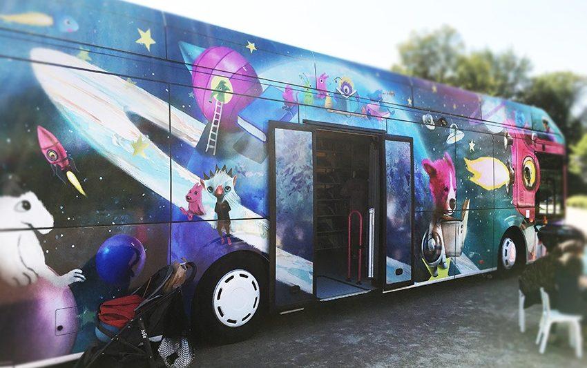 Автобуси-библиотеки от приказките