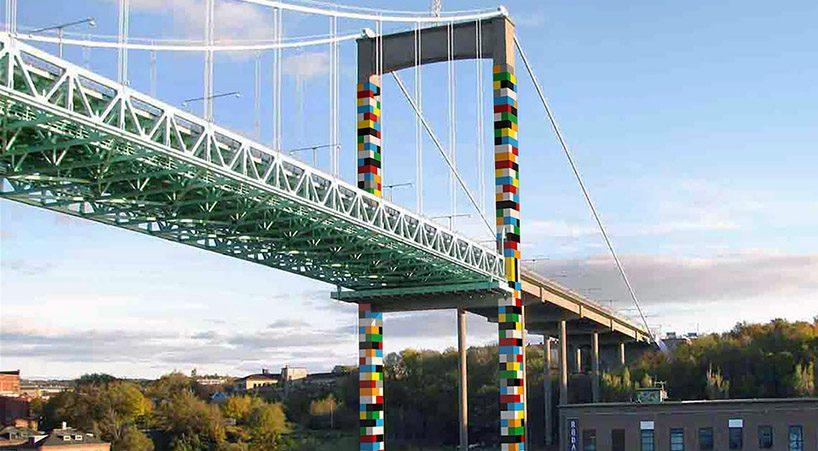 "Мостът ""Лего"" в Швеция, дело на български художник"
