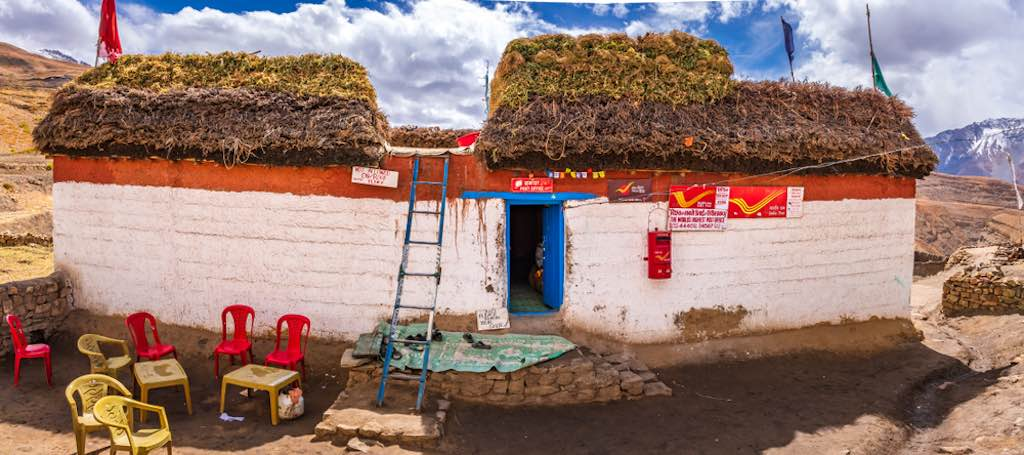 Най-високо разположената пощенска станция в света