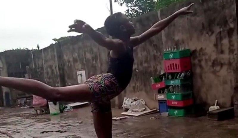 11-годишно дете от Нигерия със стипендия за балетно училище в Ню Йорк след интернет видео